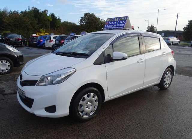 Toyota Vitz Finance Available 5DR Auto Bran new Nct+Tax ready to go 2014 full